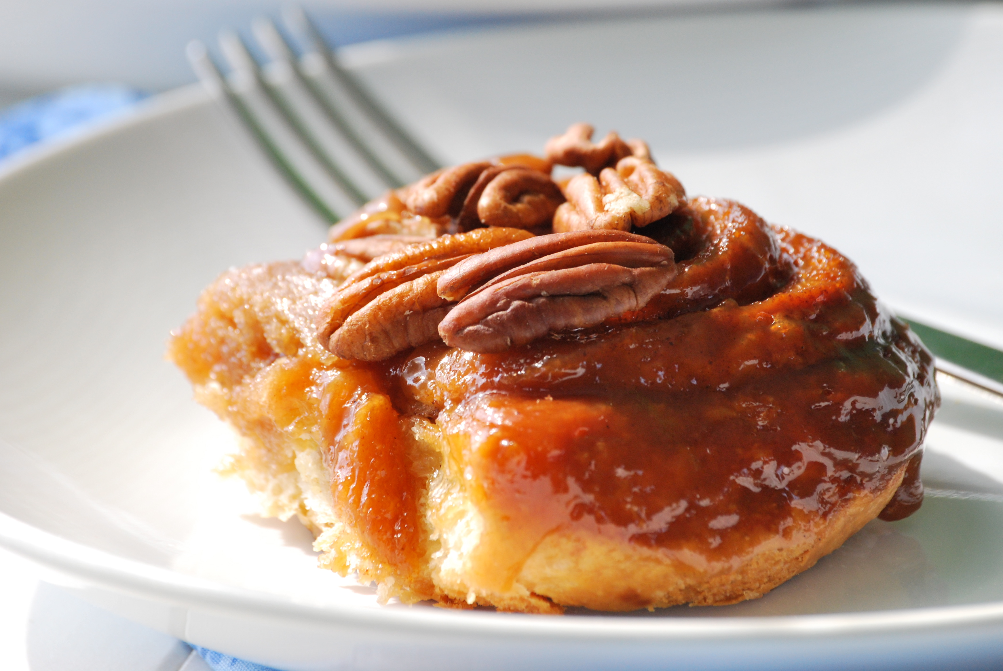 Pecan Honey Sticky Buns | Relishing It