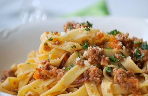 Ragu alla Bolognese with Homemade Tagliatelle | Relishing It