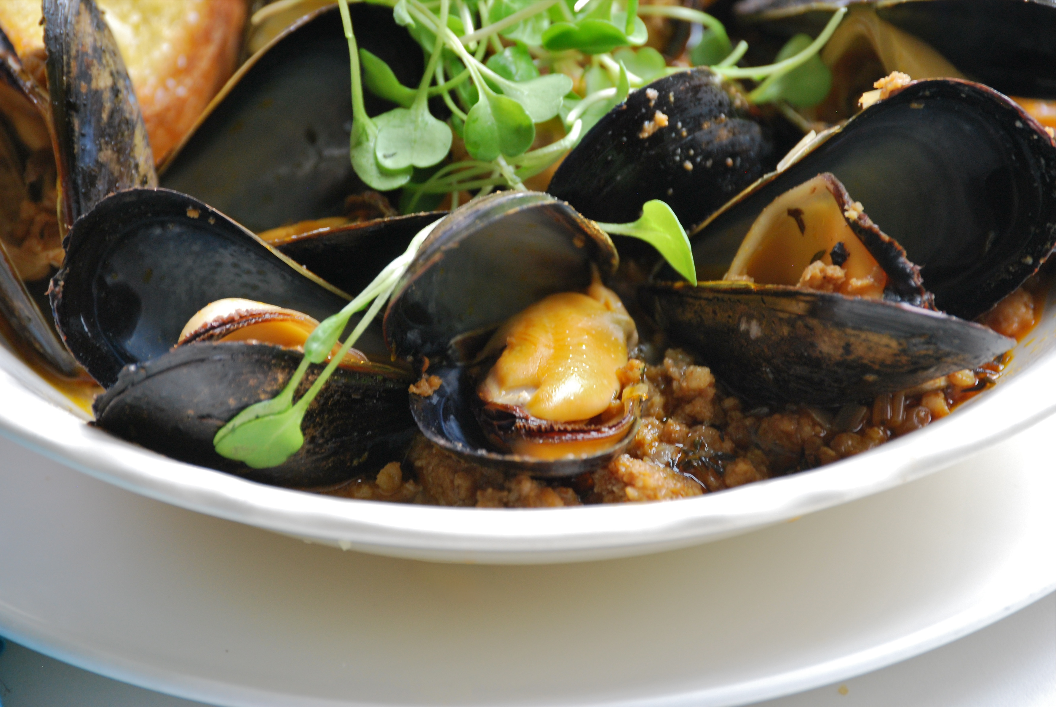 Steamed Mussels with Chorizo, Ramps, and Smoked Paprika ...