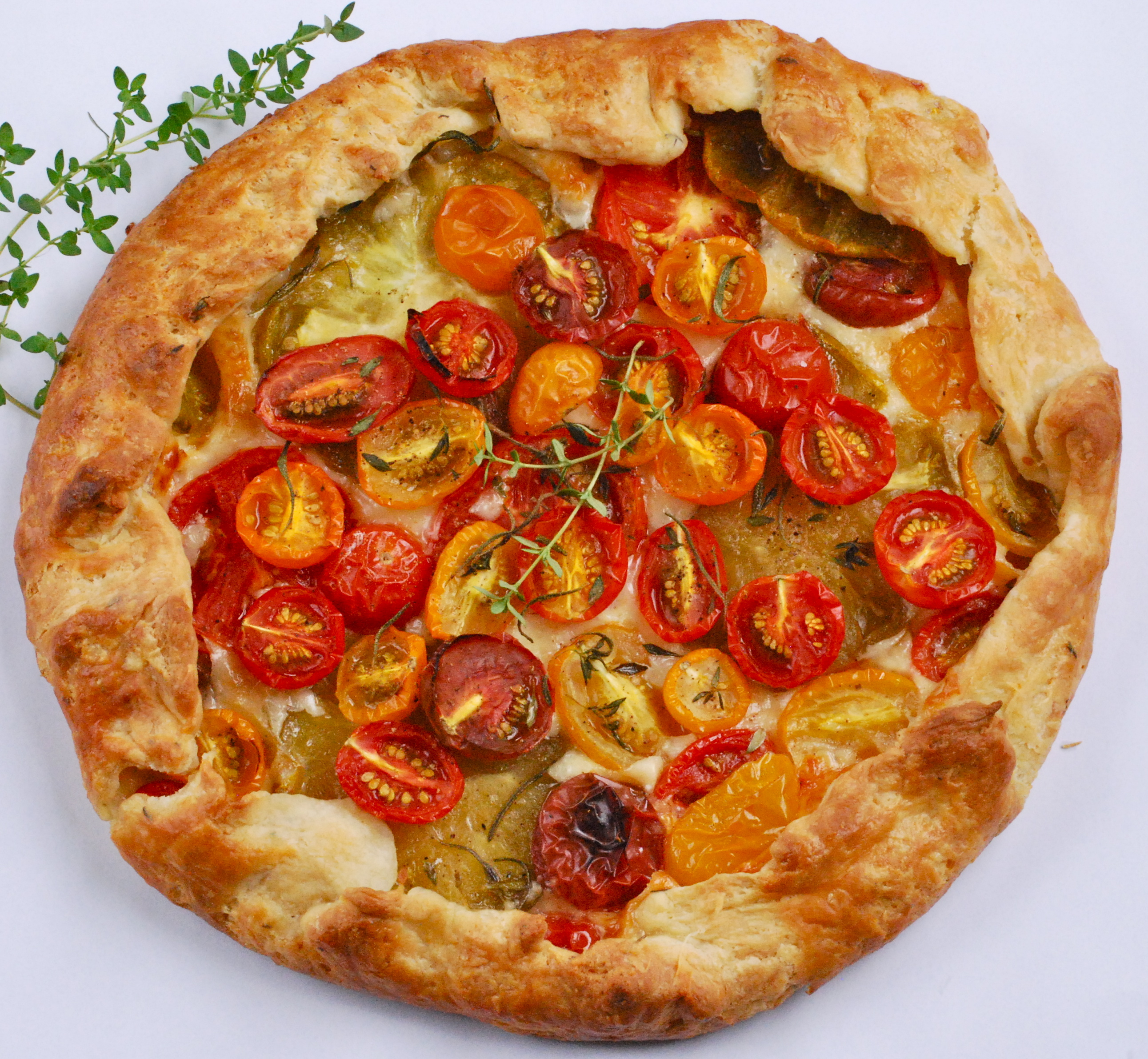 Heirloom Tomato Galette | Relishing It
