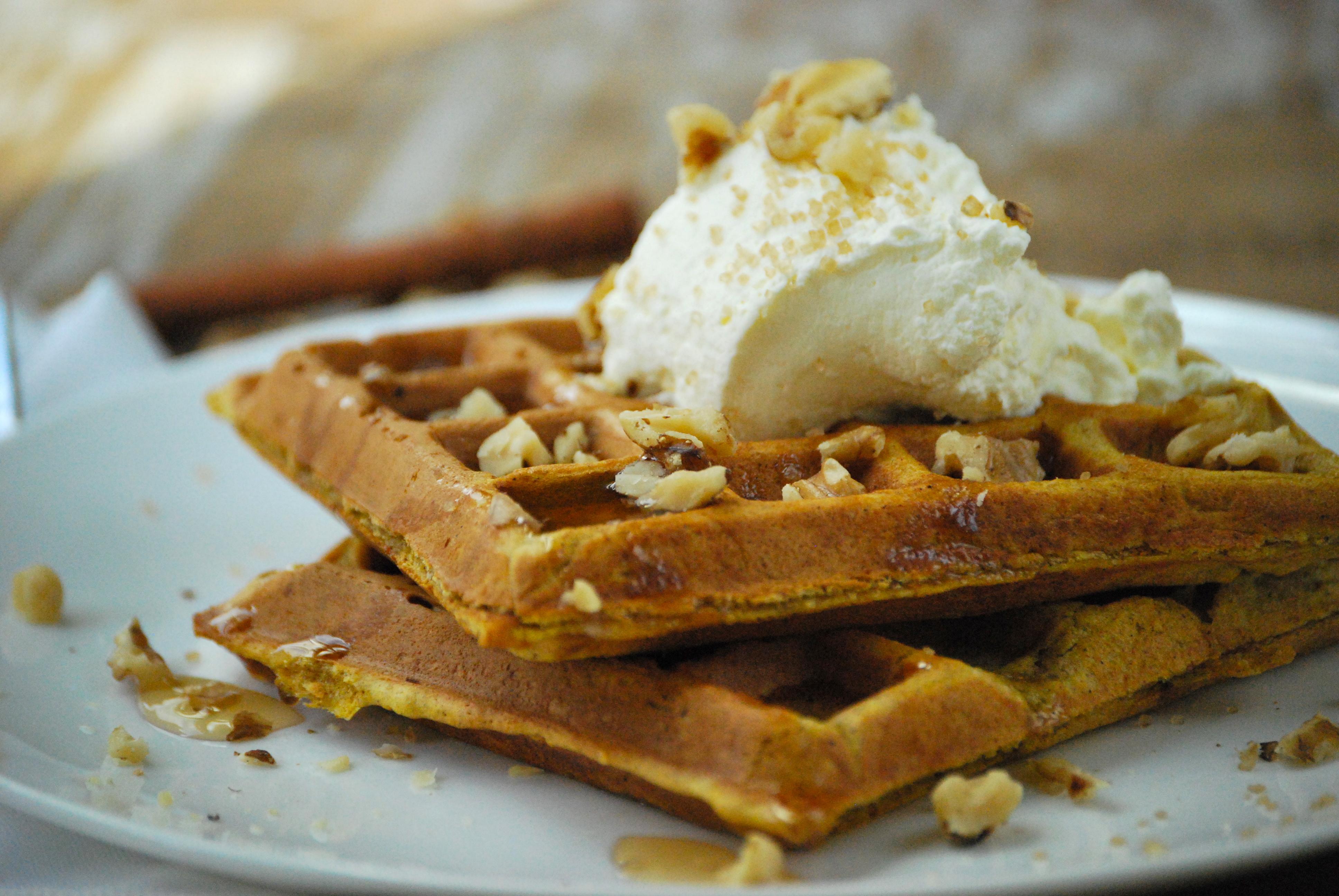 Pumpkin Waffles | Relishing It