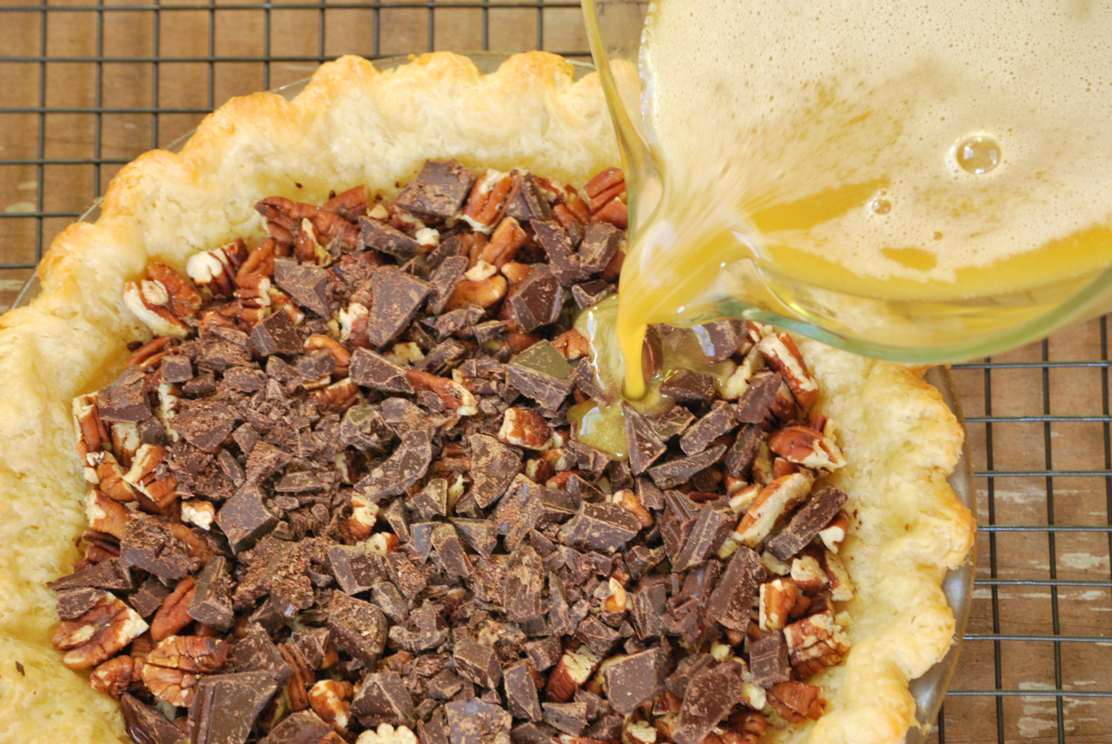 Bourbon-Chocolate Pecan Pie | Relishing It
