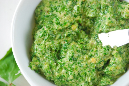 Fresh Pea And Mint Pesto Recipes — Dishmaps