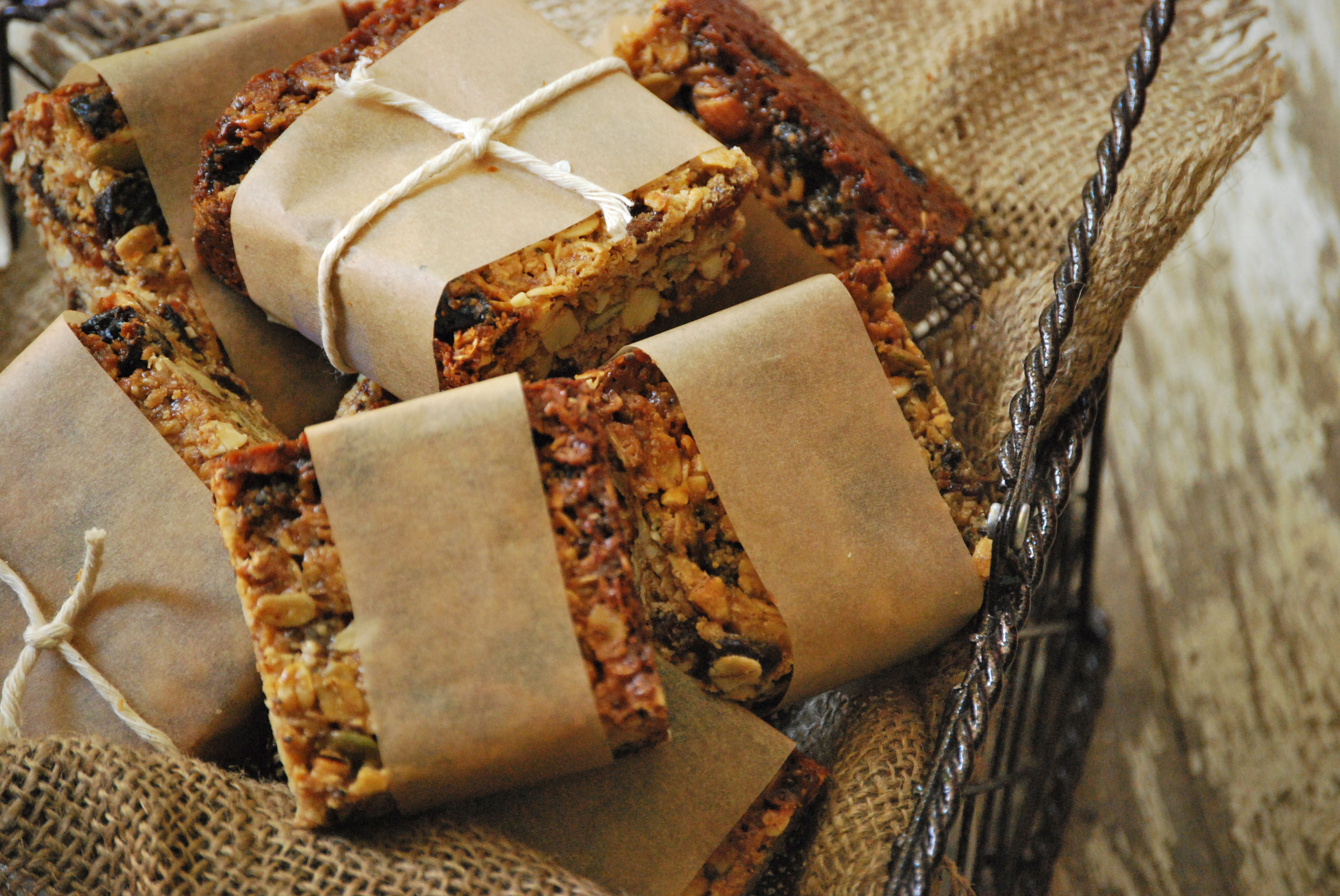 New Mama Meals: Homemade Chewy Granola Bars