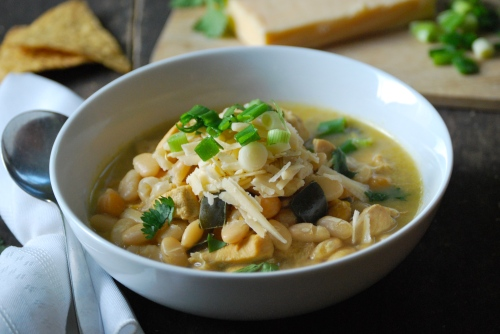 White Chili via Relishing It