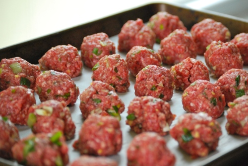 Asian-Inspired Meatballs via Relishing It