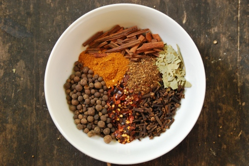 Spices for Homemade Corned Beef via Relishing It