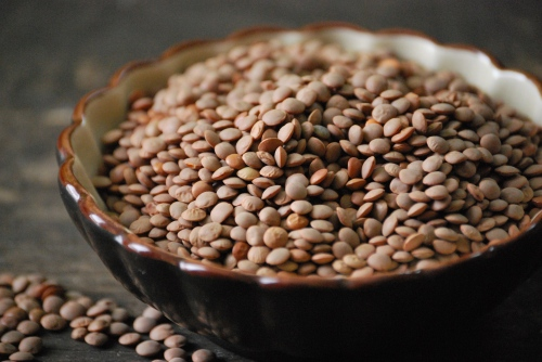 Brown Lentils via Relishing It