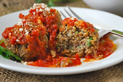 Vegetarian Lentil Meatballs via Relishing It