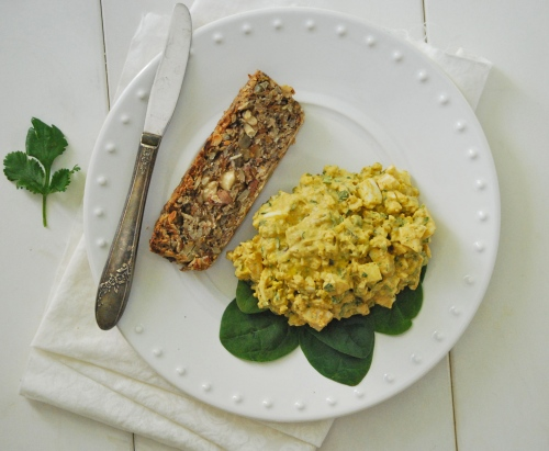 Curried Egg Salad via Relishing It