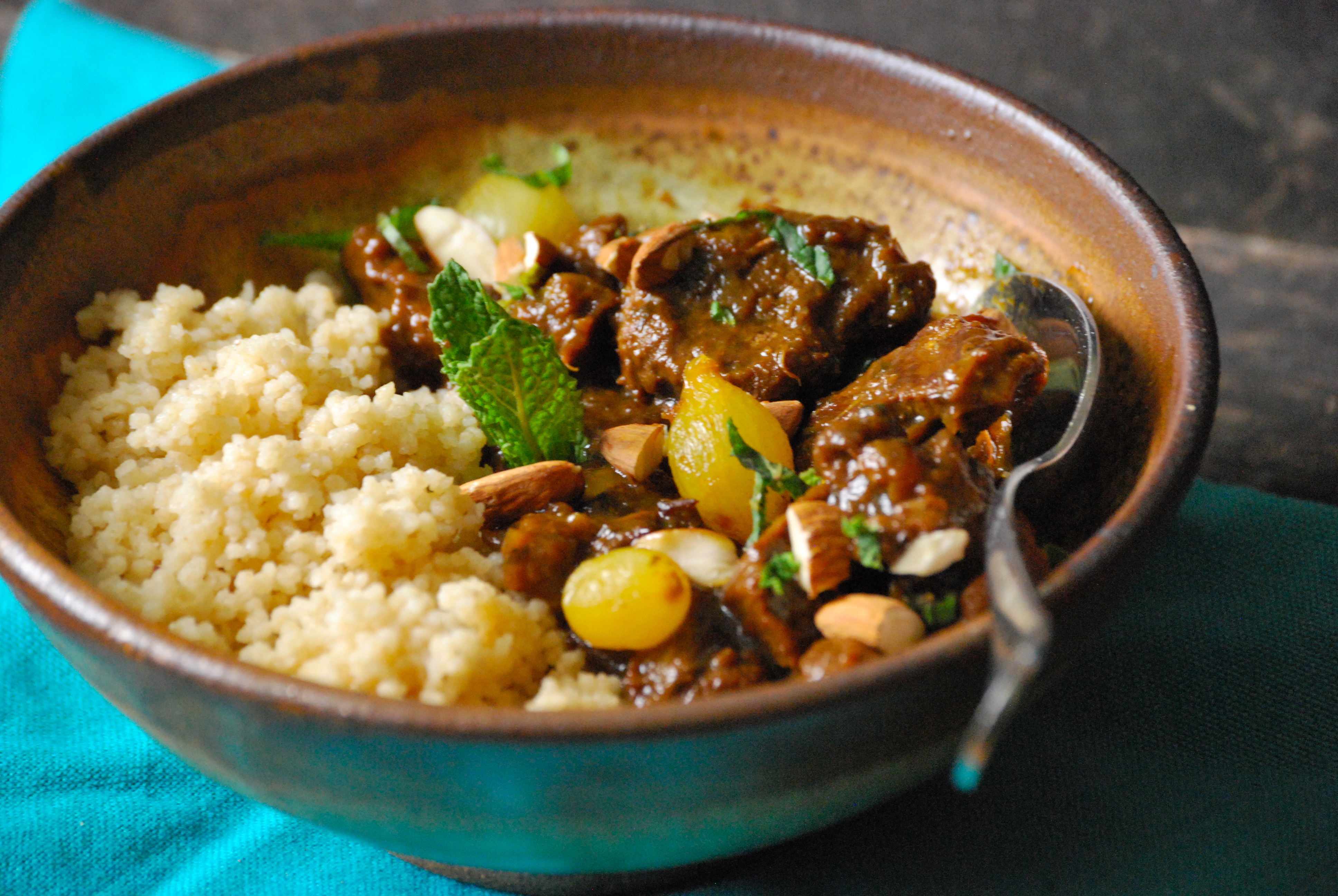 Moroccan Lamb Tagine via Relishing It