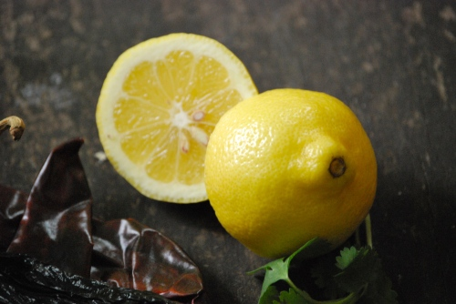 Lemon for Homemade Harissa via Relishing It