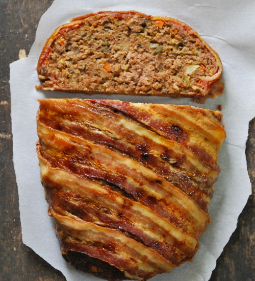 Cheddar and Stout Meatloaf via Relishing It