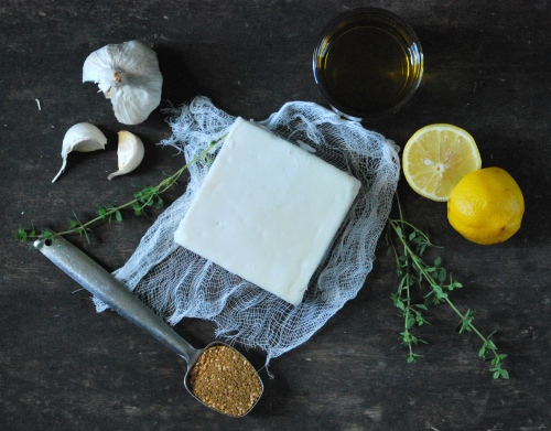 Spice-Marinated Feta and Simple Fougasse via Relishing It