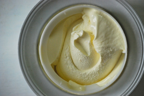 Lemon Curd ice Cream via Relishing It