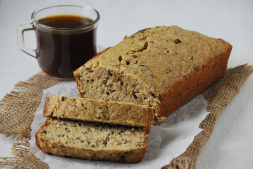 Healthy Banana Bread via Relishing it
