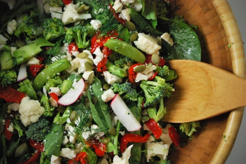 The Un-Lettuce Salad via Relishing It