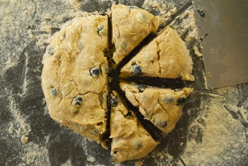 Whole Grain Blueberry Scones | Relishing it
