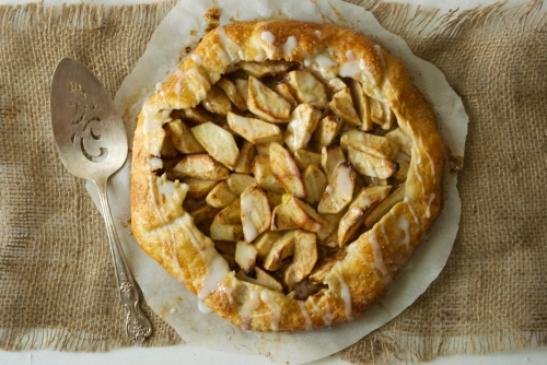 Rustic Apple Galette | Relishing It