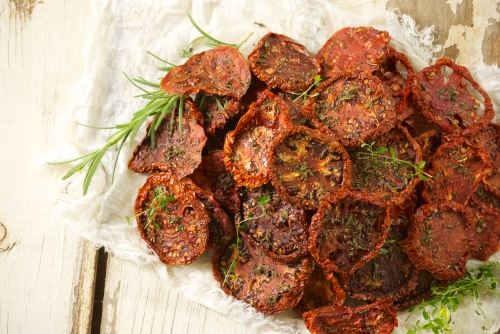 Su-Dried Tomatoes with Rosemary and Thyme | Relishing It