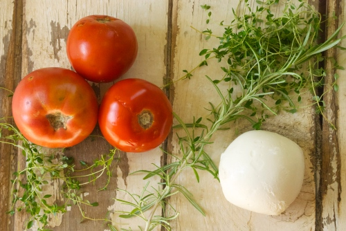 Tomato Galette with Herbs and Fresh Mozzarella | Relishing It