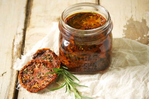 Sun-Dried Tomatoes with Rosemary and Thyme | Relishing It