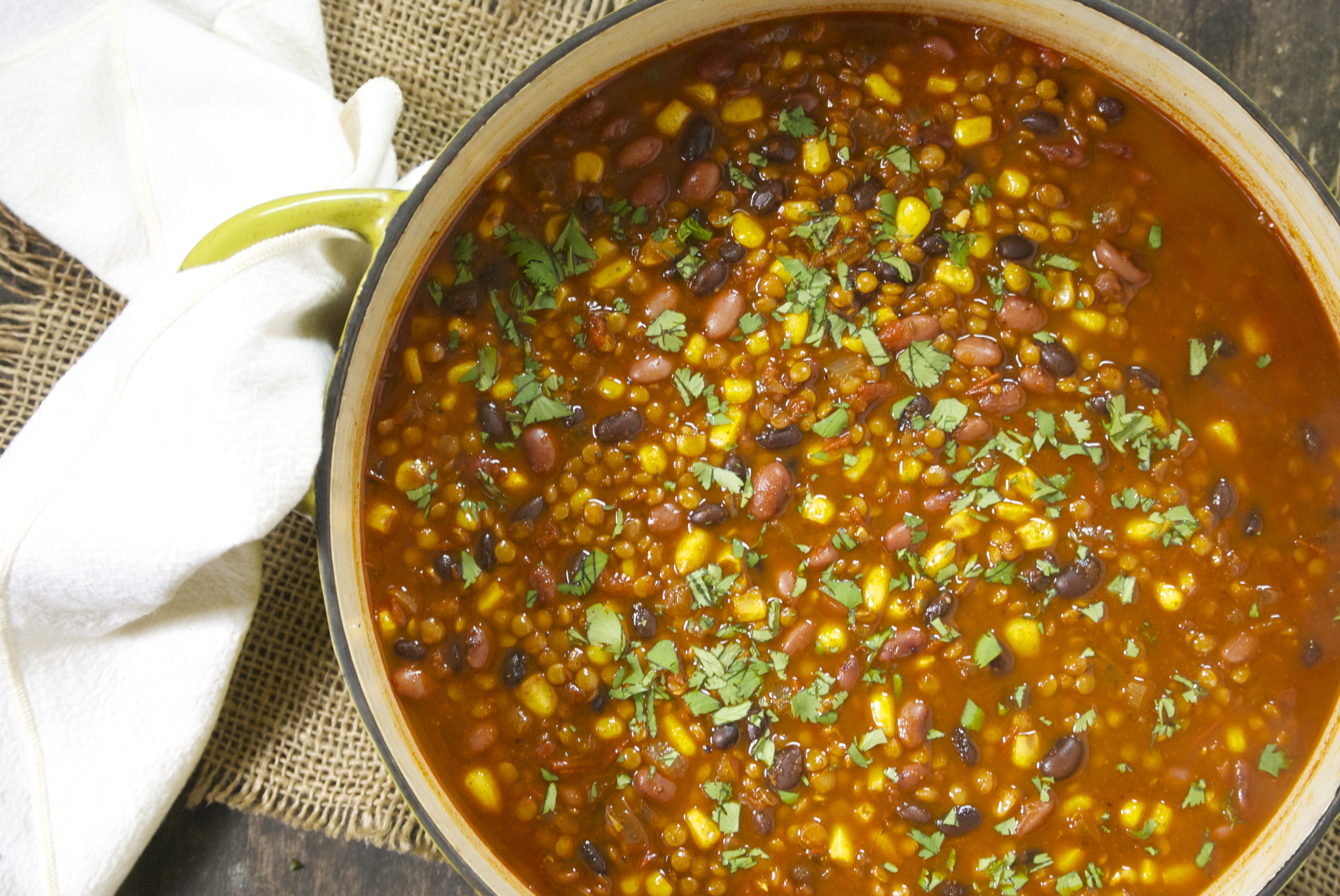 how to make mexican lentil soup