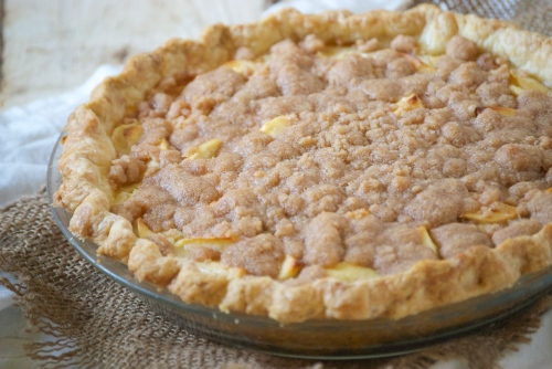 Sour Cream Apple Pie | Relishing It