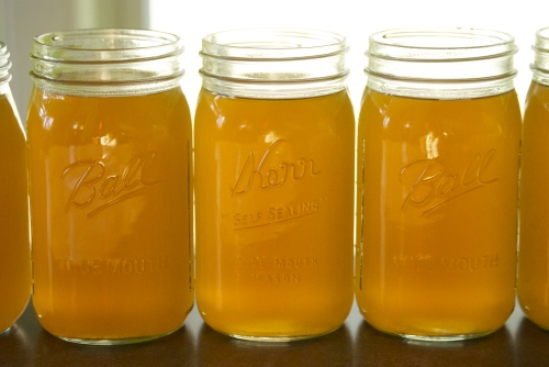 Homemade Chicken Broth | Relishing It
