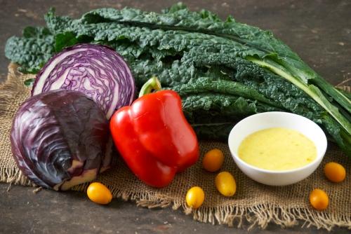 Winter Salad with a Kumquat Vinaigrette | Relishing It