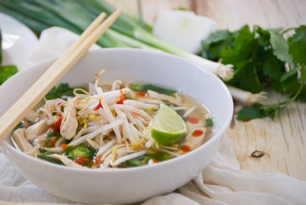 Pho Ga | Vietnamese Chicken Noodle Soup | Relishing It