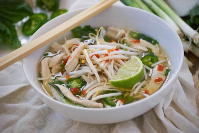 Image result for vietnamese chicken noodle soup