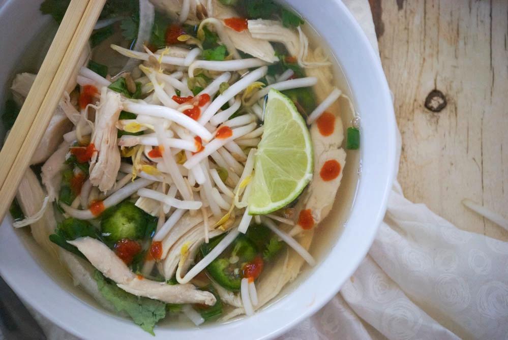 Pho Ga | Vietnamese Chicken Noodle Soup | Relishing It