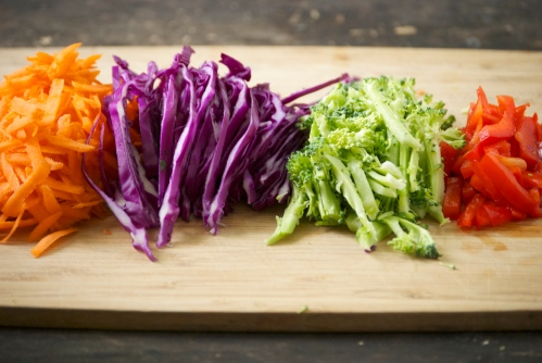 Healthy Asian Peanut Slaw | Relishing It