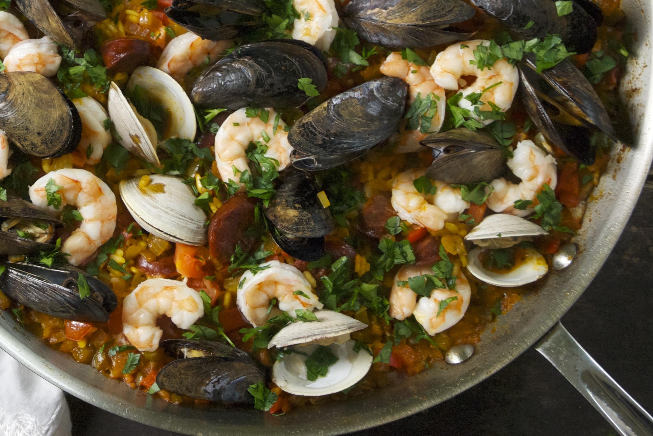 Seafood Paella | Relishing It