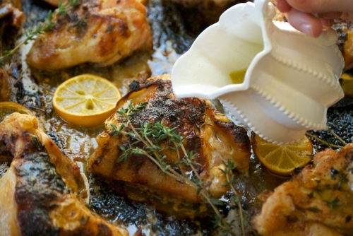 Lemon-Herb Brine For 1 Chicken, Whole Or Cut Into Pieces Recipes ...