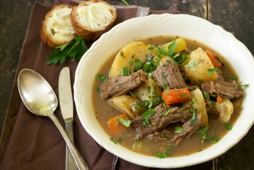 Hearty Soup of Beef Roast, Root Vegetables, and Warm Spices | Relishing It