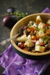Roasted Vegetable Panzanella with Eggplant | Relishing It
