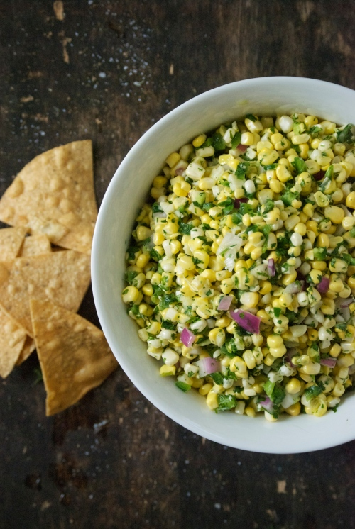 Fresh Corn Salsa | Relishing It