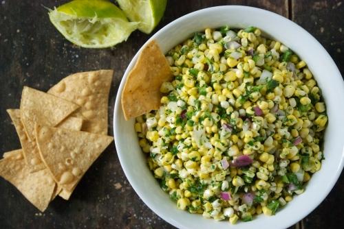 Fresh Corn Salsa | Relishing It