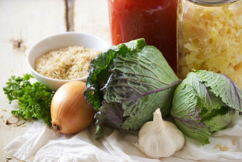 Healthy Stuffed Cabbage Roll Soup | Relishing It
