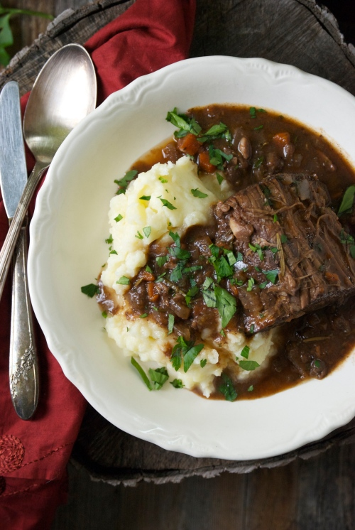 Braised Beef Roast with Red Wine and Rosemary | Relishing It