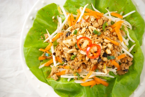 Asian Lettuce Wraps | Relishing It